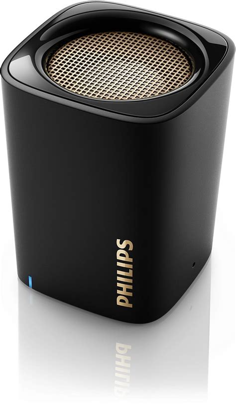 Speaker Mini Philips philips wireless mini portable bluetooth speaker bt100b 37 ebay