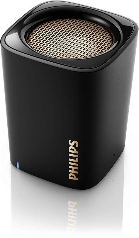 Speaker Mini Philips philips wireless mini portable bluetooth speaker bt100b 37