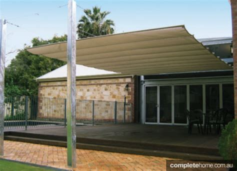 Backyard Shade Solutions by Four Versatile Shade Solutions For The Home Completehome