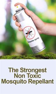 the strongest non toxic mosquito repellant