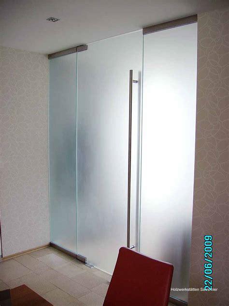 Zimmer Schiebetür Glas by Treppen Und Flurabschlu 223 Holzwerkst 228 Tten Sauerbier