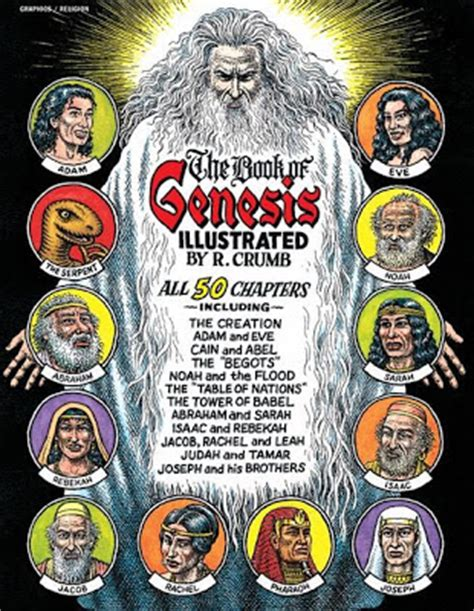 the book of genesis illustrated by r crumb franciscovazbrasil excerpt the book of genesis