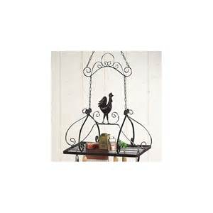 Rooster Pot Rack Rooster Storage Hanging Pot Rack New Kitchen Home