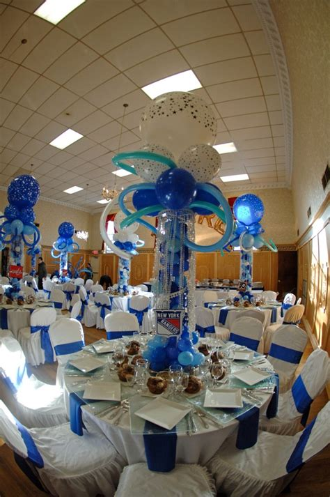 hockey theme bar mitzvah centerpieces lasting memories