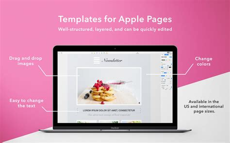 templates for pages osx templates mill templates for pages by uab quot graphic node quot