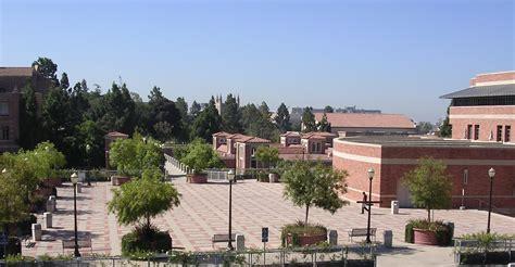 Ubs Los Angeles Ucla Mba by Ucla Cus Map Briskin Family Plaza Judy Bernard