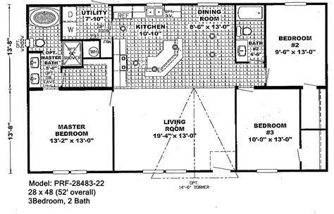 Small Double Wide Floor Plans | double wide mobile homes floor plans candresses