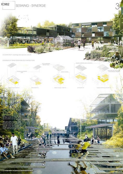 Landscape Architecture Competitions 25 Best Ideas About Presentation Boards On