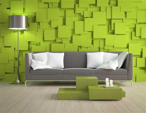 contoh warna cat ruang tamu kombinasi hijau biru