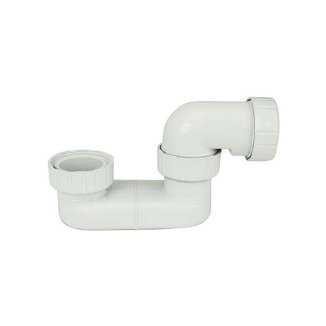 sifone vasca da bagno sifone ribassato per scarico vasca da bagno in pp colore
