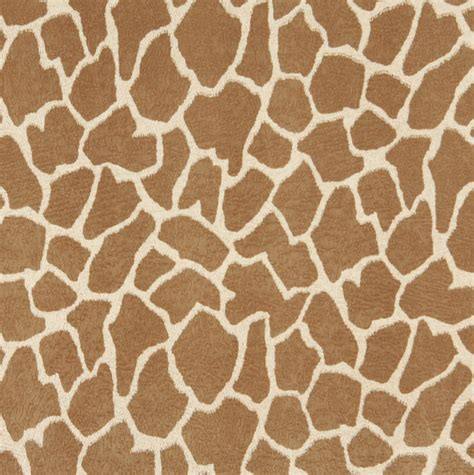 e406 giraffe animal print microfiber fabric