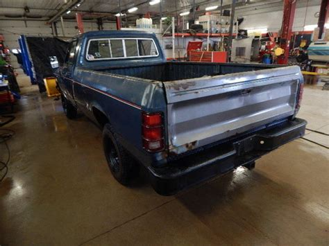dodge durango for sale in wisconsin 1984 dodge ram 250 custom plow truck t1248530