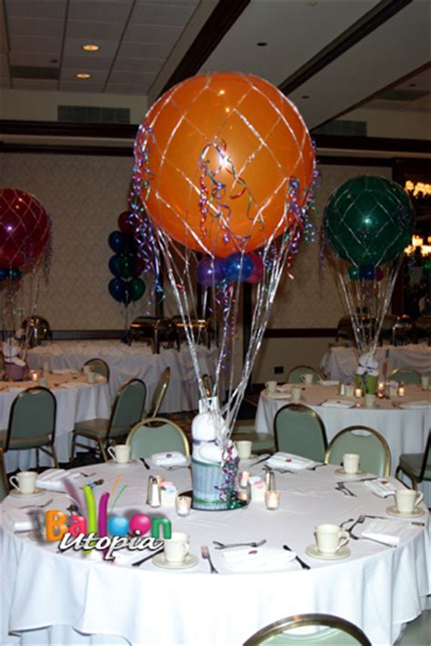 air balloon centerpieces air balloon centerpiece balloon utopia