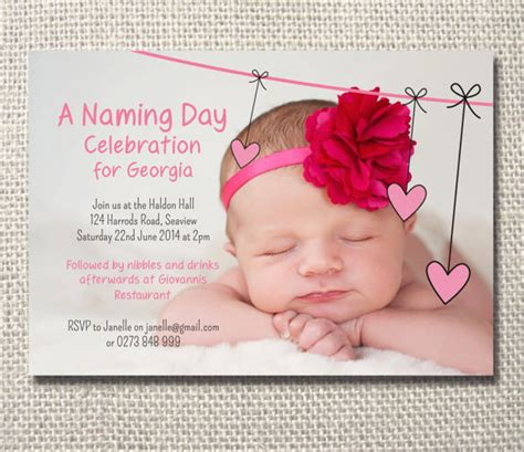 35 naming ceremony invitations free psd pdf format