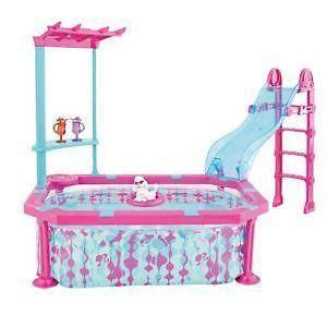 barbie doll house with pool barbie pool ebay