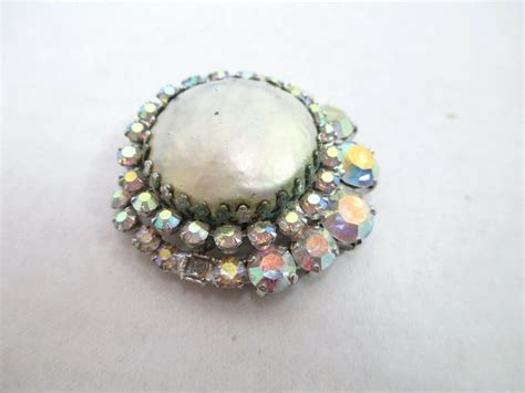 vintage signed weiss costume jewelry pin brooch ebay
