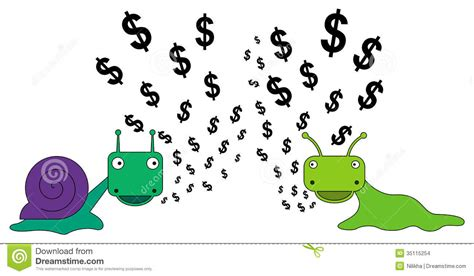 Money Talking a money talk stock illustration image of financial rich