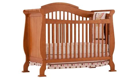 Cribs Intro by Stork Craft Valentia Fixed Side Convertible Crib