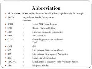 abbreviation for exle alisen berde