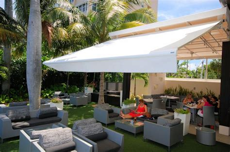 retractable awnings miami retractable awnings canopies miami awning shade