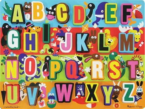 Letter Puzzles jumbo abc chunky puzzle 3833 19 95 greenpointtoys