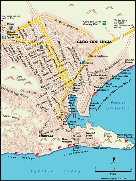 map of cabo san lucas cabo san lucas map