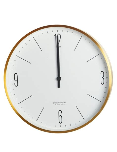 scandinavian wall clock pinterest