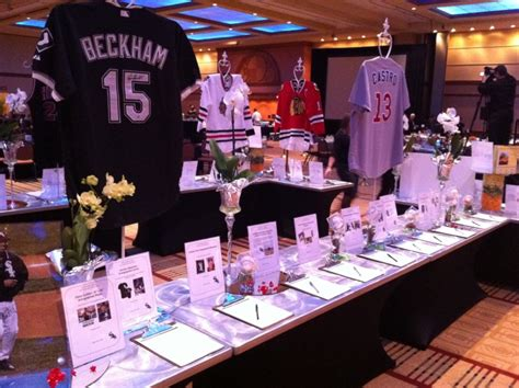 table top t shirt display marketing silent auctions for non profits