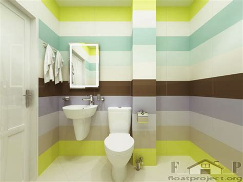 coloful bathroom ideas home designs project