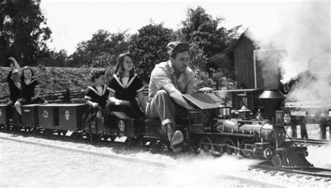 backyard trains disneyland history and why theme parks ever happened