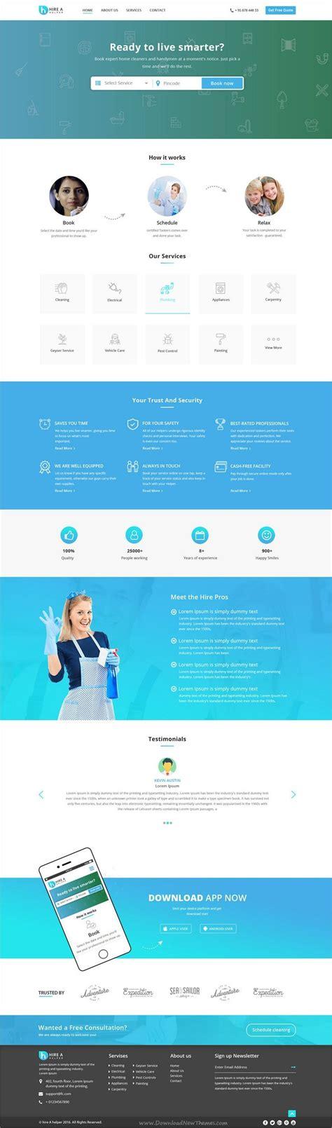 28 Best Site Images On Pinterest Website Designs Design Web And Design Websites Service Provider Website Templates