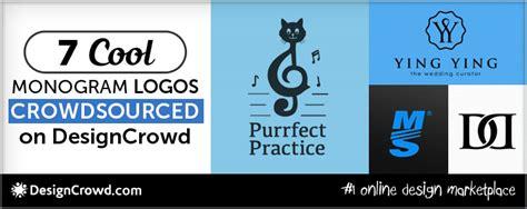 designcrowd login uk 7 cool monogram logos crowdsourced on designcrowd