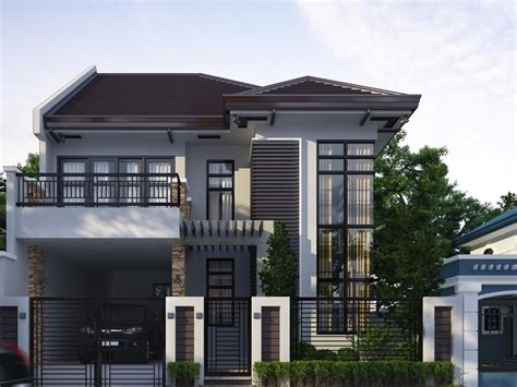 simple 2 story house plans 2018 2 storey home with simple minimalist design 4 home ideas
