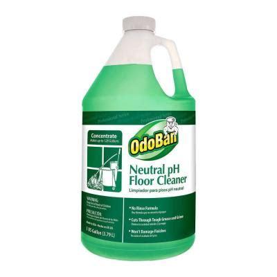 odoban 128 oz neutral ph floor cleaner 936162 g the
