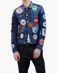 Dsquared 2 Denim dsquared2 patch jean jacket denim outerwear