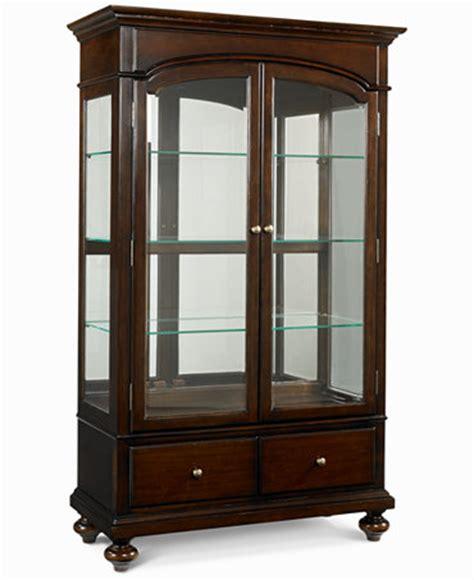 bradford china curio cabinet furniture macy s
