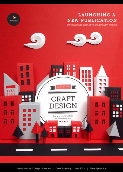 design poster book craft design book launch poster craft design