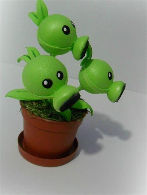 plants vs zombie en fomix guisantes de goma eva girasol y guisante estas plants vs