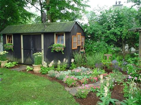 backyard garden sheds landscaping network