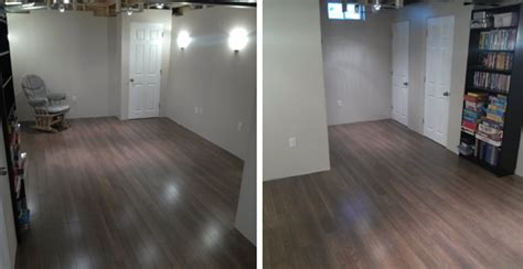 the from here laminate floor in basement
