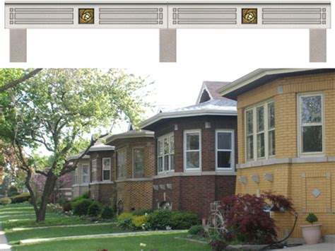 chicago bungalow floor plans chicago brick bungalow style houses with brick and stone blue brick house home