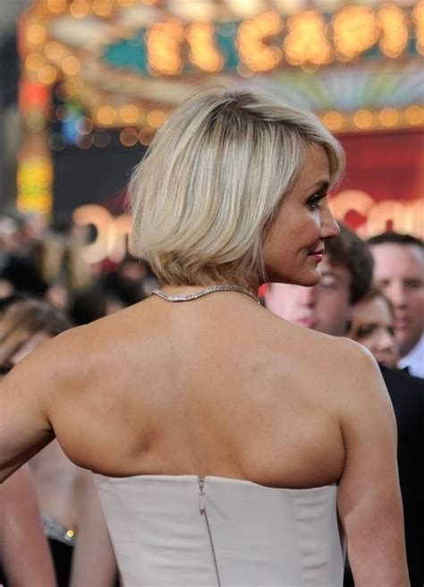 Cameron Diaz Is Back by Cameron Diaz New Haircut Bob Hairstyle With