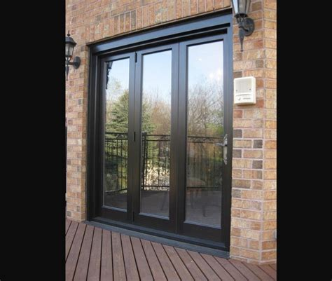 Bi Folding Doors Exterior Panoramic Bi Folding Doors Amberwood Doors Inc
