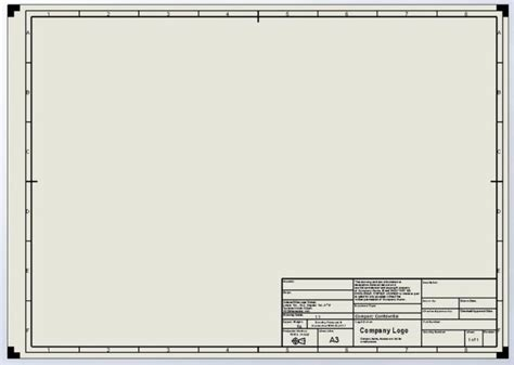 mechanical drawing template autocad mechanical drawing templates free