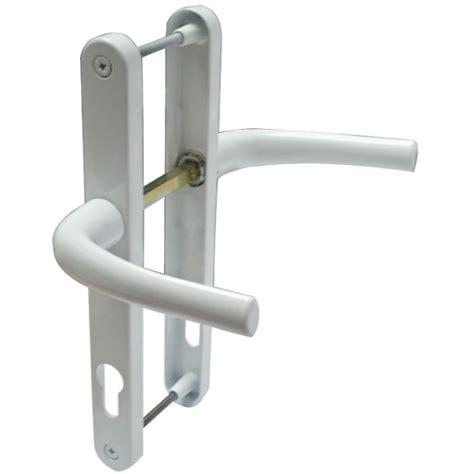Upvc Patio Door Locks Upvc Door Handle No 8 92mm Centres Spindle To Cylinder Lever Lever Door Handles Upvc