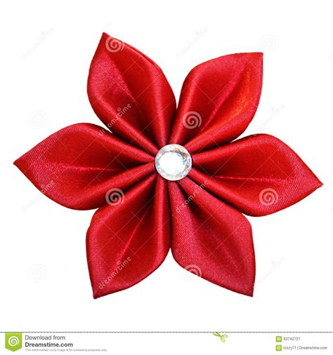 Handmade Fabric Flower Patterns - handmade fabric flower stock photo image 63742727