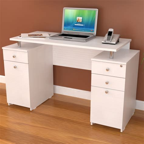 21 Computer Desk Designs Ideas Plans Design Trends White Desk With Drawers