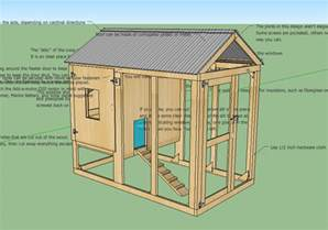 a life in the day of free insulated chicken coop plans