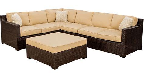armless chair and ottoman set hanover metro5pc metropolitan 5 piece sofa lounge set 2