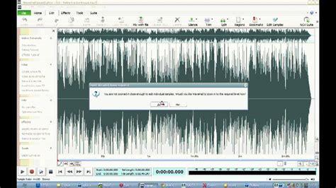 tutorial wavepad wavepad sound editor video tutorial youtube